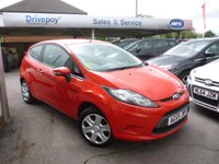 USED 2010 59 FORD FIESTA 1.2 EDGE 3d 81 BHP PLEASE CALL TODAY FOR TEST DRIVE ALL CARS AA INSPECTED