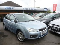 USED 2007 07 FORD FOCUS 1.8 GHIA 5d 124 BHP PLEASE CALL TODAY FOR TEST DRIVE ALL CARS AA INSPECTED