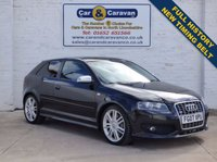 USED 2007 07 AUDI A3 2.0 S3 TFSI QUATTRO 3d 262 BHP Full Service History Top Spec 0% Deposit Finance Available
