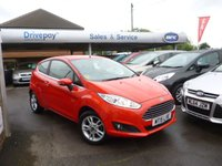 USED 2015 15 FORD FIESTA 1.2 ZETEC 3d 81 BHP PLEASE CALL TODAY FOR TEST DRIVE ALL CARS AA INSPECTED