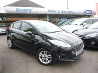 USED 2016 16 FORD FIESTA 1.2 ZETEC 5d 81 BHP PLEASE CALL TODAY FOR TEST DRIVE ALL CARS AA INSPECTED