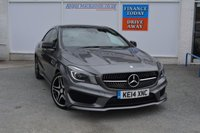 USED 2014 14 MERCEDES-BENZ CLA 2.1 CLA220 CDI AMG SPORT 4d AUTO 170 BHP FULL SERVICE HISTORY WITH US ONE OWNER & LOW MILEAGE