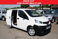 USED 2014 14 NISSAN NV200 1.5 DCI ACENTA 1d 90 BHP One Owner, Rear Parking Camera, Two Side Loading Doors.