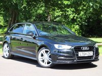 USED 2014 64 AUDI A3 1.6 TDI S-Line 5dr Auto £234 PCM With £1369 Deposit