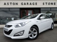 USED 2013 13 HYUNDAI I40 1.7 CRDI ACTIVE BLUE DRIVE 4d 114 BHP ** 1 OWNER ** *ONE OWNER* F/S/H* BLUETOOTH*