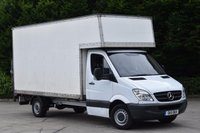 USED 2011 11 MERCEDES-BENZ SPRINTER 2.1 313 CDI LWB 2d 129 BHP RWD DIESEL MANUAL LUTON WITH TAIL LIFT TWO OWNER FULL SERVICE HISTORY