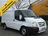 USED 2012 62 FORD TRANSIT 125 T280 Swb Low roof [ Mobile Workshop ] Van+ A/Con Free UK Delivery