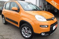 USED 2014 14 FIAT PANDA 1.2 MULTIJET 5d 75 BHP 4x4 GREAT VALUE 4X4 FINISHED IN SICILIAN ORANGE
