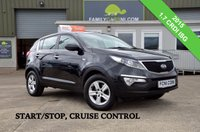 USED 2015 KIA SPORTAGE 1.7 CRDI 1 ISG 5d 114 BHP  *FROM £179 MONTHLY*