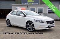 USED 2012 VOLVO V40 1.6 D2 ES NAV 5d 113 BHP *SAT NAV & ZERO TAX* *FROM £119 MONTHLY*
