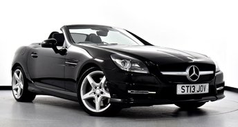 2013 MERCEDES-BENZ SLK 2.1 SLK250 CDI BlueEFFICIENCY AMG Sport 7G-Tronic 2dr £17495.00