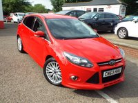 USED 2013 63 FORD FOCUS 1.6 ZETEC S TDCI 5d 113 BHP FULL Fotrd Service History ONE Owner