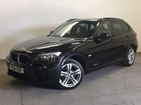 USED 2011 61 BMW X1 2.0 XDRIVE20D M SPORT 5d AUTO 174 BHP 4WD LEATHER PDC 4WD. STUNNING BLACK MET WITH FULL BLACK LEATHER TRIM. 18 INCH ALLOYS. COLOUR CODED TRIMS. PRIVACY GLASS. PARKING SENSORS. BLUETOOTH PREP. CLIMATE CONTROL. TRIP COMPUTER. R/CD PLAYER. MFSW. MOT 03/18. SERVICE HISTORY. PRISTINE CONDITION. FCA FINANCE APPROVED DEALER. TEL 01937 849492.