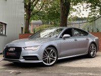 USED 2016 66 AUDI A7 3.0 TDI V6 Black Edition Sportback S Tronic quattro (s/s) 5dr £399PCM - NO DEPOSIT REQUIRED!