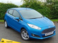 USED 2013 13 FORD FIESTA 1.2 ZETEC 5d * 128 POINT AA INSPECTED * FULL SERVICE HISTORY * BUILT IN BLUETOOTH HANDSFREE *
