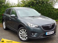 USED 2014 14 MAZDA CX-5 2.2 D SPORT NAV 5dr * 128 POINT AA INSPECTED * ONE OWNER FROM NEW * SATELLITE NAVIGATION *