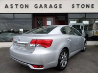 USED 2013 13 TOYOTA AVENSIS 2.0 T4 D-4D 4d 124 BHP ** 1 OWNER * FSH ** * SAT NAV * CAMERA * F/S/H * 1 OWNER **