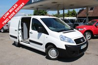 USED 2012 12 FIAT SCUDO 1.6 BUSINESS MULTIJET SWB 1d 89 BHP 3 Seater, One Owner, Lovely Low Mileage.