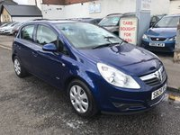 USED 2008 08 VAUXHALL CORSA 1.4 CLUB A/C 16V 5d AUTO 90 BHP PRICE INCLUDES A 6 MONTH AA WARRANTY DEALER CARE EXTENDED GUARANTEE, 1 YEARS MOT AND A OIL & FILTERS SERVICE. 12 MONTHS FREE BREAKDOWN COVER