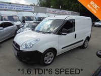 USED 2014 14 FIAT DOBLO 1.6 16V MULTIJET 6 Speed **105 BHP*FULL FIAT HISTORY*