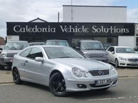 USED 2007 57 MERCEDES-BENZ C CLASS 1.8 C180 KOMPRESSOR SE SPORTS 3d 141 BHP 2 FORMER KEEPERS