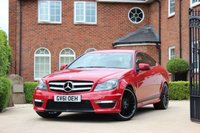 USED 2012 61 MERCEDES-BENZ C CLASS C220 CDI BLUEEFFICIENCY AMG SPORT 2.1 2d AUTO C63 507 EDT STYLING C63 507 EDITION STYLING - NAV