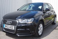 2012 AUDI A1 1.2 SPORTBACK TFSI SE 5d 86 BHP £6995.00