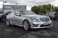 USED 2012 12 MERCEDES-BENZ C CLASS 2.1 C220 CDI BLUEEFFICIENCY AMG 4d AUTO 168 BHP