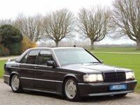 1989 MERCEDES-BENZ 190 Mercedes-Benz 190E 2.3 16 Cosworth 2.5 4dr LEFT HAND DRIVE £16290.00