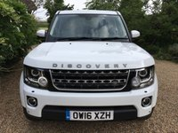 USED 2016 16 LAND ROVER DISCOVERY 3.0 SDV6 GRAPHITE 5d AUTO 255 BHP