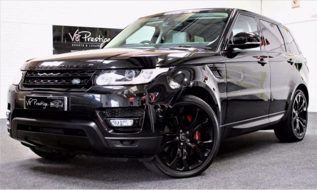2013 63 LAND ROVER RANGE ROVER SPORT 3.0 SDV6 AUTOBIOGRAPHY DYNAMIC 5d AUTO 288 BHP