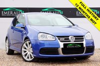 USED 2008 08 VOLKSWAGEN GOLF 3.2 R32 3d 250 BHP **£0 DEPOSIT FINANCE AVAILABLE**SECURE WITH A £99 FULLY REFUNDABLE DEPOSIT** TOUCH SCREEN HEAD UNIT, AIR CON, DUAL CLIMATE CONTROL, ELECTRIC WINDOWS AND HEATED ELECTRIC WING MIRRORS, USB PORT, FULL SERVICE HISTORY AND 12 MONTHS MOT