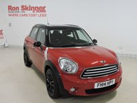 USED 2014 14 MINI COUNTRYMAN 2.0 COOPER D 5d AUTO 110 BHP with Chili Pack