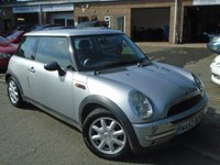 USED 2002 52 MINI HATCH ONE 1.6 ONE 3d 89 BHP OVER £2000 FACTORY EXTRAS