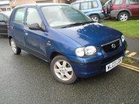 USED 2003 03 SUZUKI ALTO 1.1 GLS 5d 62 BHP £30 ROAD TAX + NEW MOT ON SALE