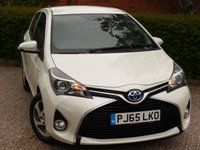 USED 2015 65 TOYOTA YARIS 1.5 HYBRID ICON 5d AUTO 73 BHP POOR CREDIT WE CAN HELP JUST ASK!! VERY ECONOMICAL SMALL AUTOMATIC!!