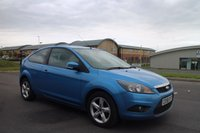 USED 2008 58 FORD FOCUS 1.8 ZETEC 3d 125 BHP LOW DEPOSIT OR NO DEPOSIT FINANCE AVAILABLE.