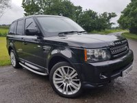 USED 2012 62 LAND ROVER RANGE ROVER SPORT 3.0SDV6 HSE 5d AUTO SUNROOF HARMAN KARDON & MORE