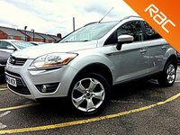 USED 2008 58 FORD KUGA 2.0 ZETEC TDCI AWD 5d BLUETOOTH, APPEARANCE PACK  Factory Fitted Bluetooth, Appearance Pack