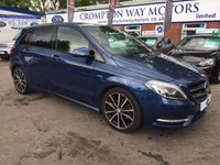 USED 2012 12 MERCEDES-BENZ B CLASS 1.8 B200 CDI BLUEEFFICIENCY SPORT 5d AUTO 136 BHP 0% AVAILABLE ON THIS CAR PLEASE CALL 01204 317705
