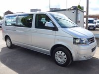 USED 2014 14 VOLKSWAGEN TRANSPORTER SHUTTLE 2.0 T30 TDI SHUTTLE SE AUTOMATIC DSG, 140 BHP, AIR CONDITIONING, ELECTRIC PACK, REAR CLIMATE CONTROL, LOW MILES