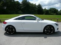 "USED 2010 10 AUDI TT 2.0 TFSI 3d 200 BHP Full Service History, 18"" Alloys, New 12 Month MOT"