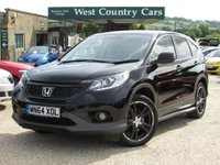 USED 2015 64 HONDA CR-V 2.2 I-DTEC BLACK EDITION 5d 148 BHP Only 1 Owner From New