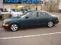 USED 2001 51 JAGUAR S-TYPE 3.0 SE V6 4d AUTO 240 BHP TRADE IN TO CLEAR