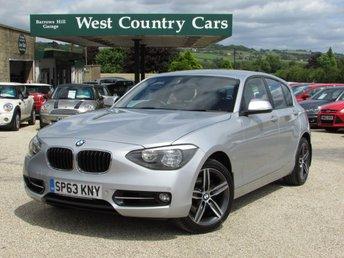 2013 BMW 1 SERIES 2.0 120D XDRIVE SPORT 5d 181 BHP £12000.00