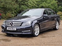 USED 2011 61 MERCEDES-BENZ C CLASS 2.1 C250 CDI BLUEEFFICIENCY SPORT ED125 4d AUTO 204 BHP