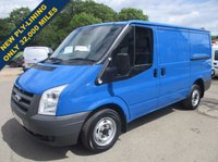 USED 2011 11 FORD TRANSIT 280S SWB DIRECT FROM A MAJOR PLC WITH ONLY 32,000 MILES