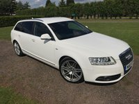 2010 AUDI A6 2.0 AVANT TDI S LIne LE MANS 5d AUTO 168 BHP Full Audi History  £11800.00