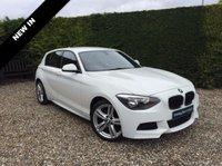 2013 BMW 1 SERIES 2.0 118D M SPORT 5d 141 BHP £12990.00