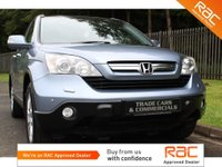 USED 2008 HONDA CR-V 2.2 I-CTDI EX 5d 139 BHP A TIDY EXAMPLE WITH FULL HISTORY, SAT NAV, PANORAMIC GLASS ROOF, FULL BLACK LEATHER